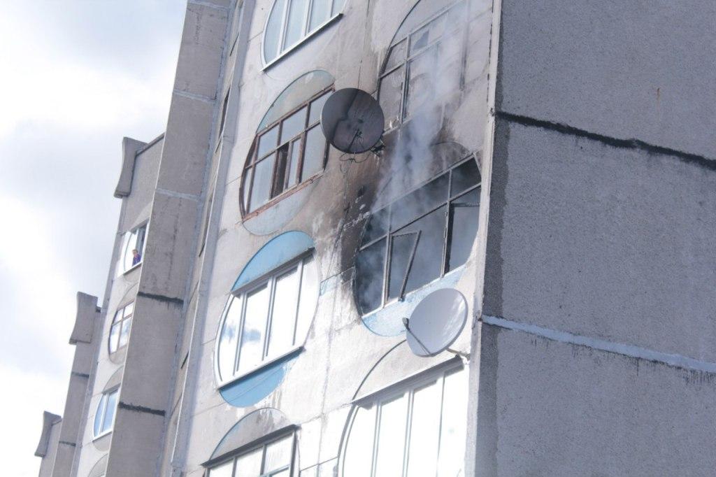 2014.03.20. Пожар, мкрн 4, д.12. Светлогорск http://lovesun.by