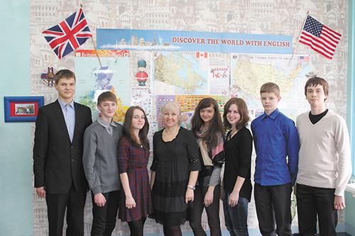 Делегация из Светлогорска в английскую школу http://lovesun.by