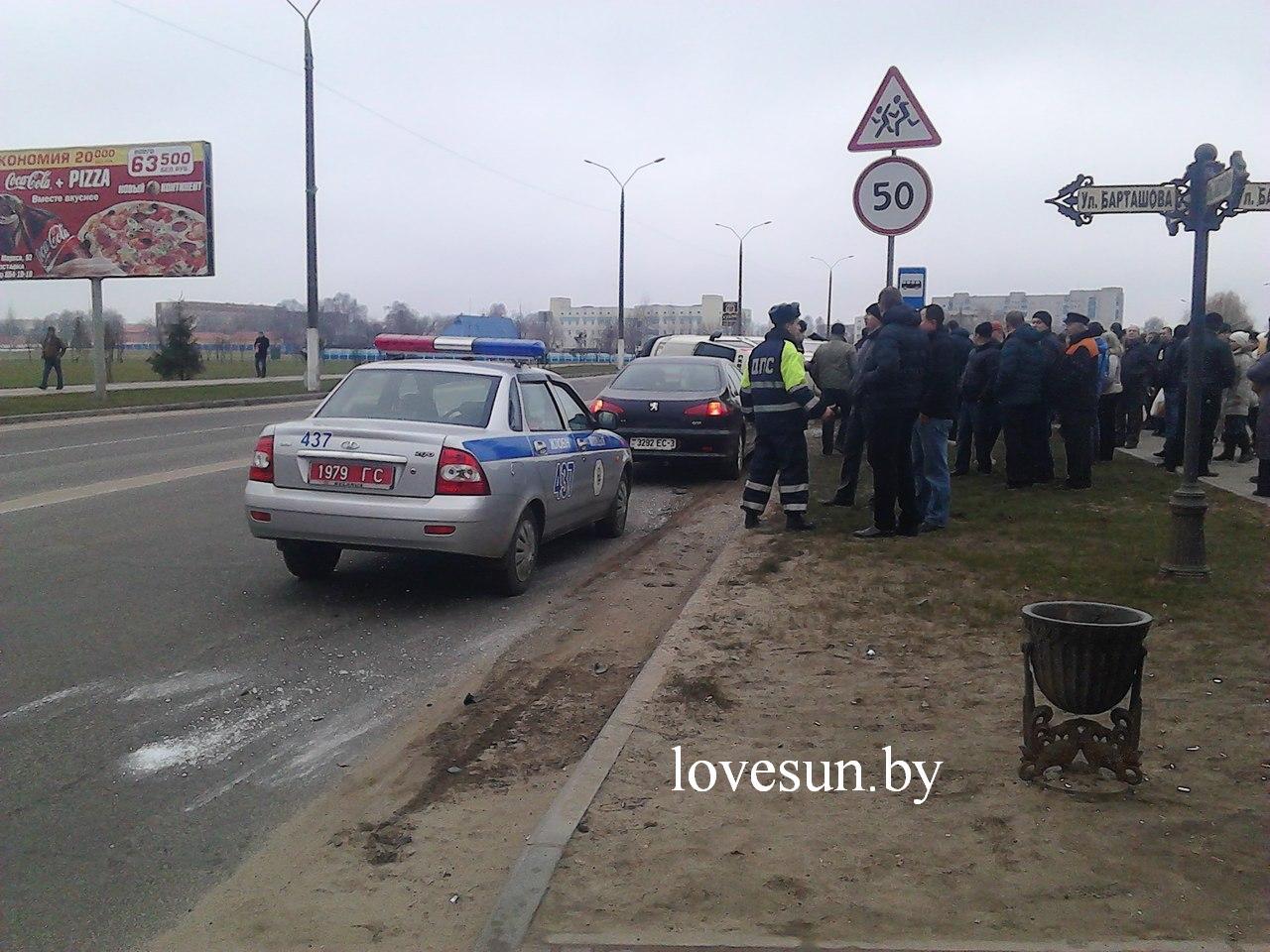 Жлобин ДТП скорая, lovesun.by