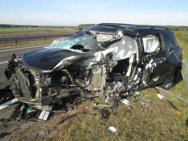 ДТП, где погиб житель Боровиков, автомобиль Акура. 2
