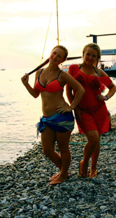 Девушки на чёрном море, Сочи, Кубань, фото sn.by