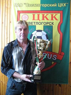 Николай Бондаренко, тренер мини-футбольного клуба ЦКК