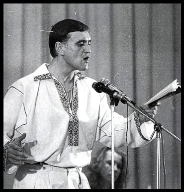 Анатоль Сыс, поэт, человек, белорус, вышиванка