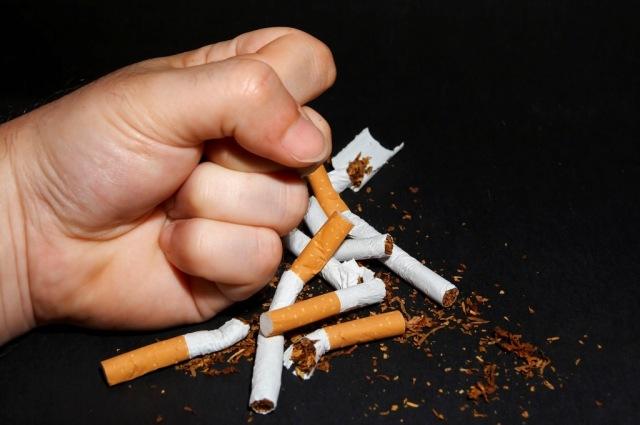 БРОСИТЬ-КУРИТЬ, сигарета, рука, кулак, табак