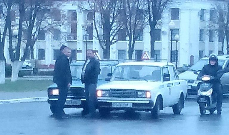 ДТП возле площади 2014.10.22