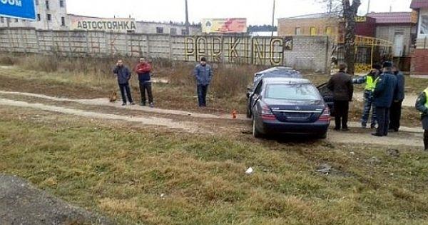 Автомобиль посла Беларуси в России Игоря Петришенко попал в аварию, дтп