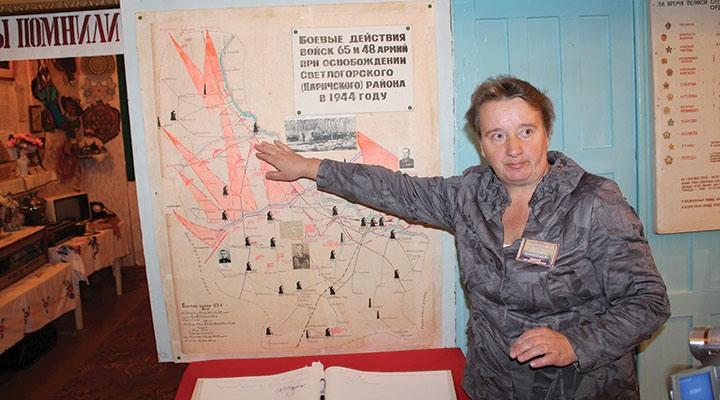 Наталья Гавриленко, директор музея в Чирковичах, человек
