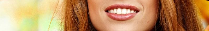 Улыбка, губы, девушка