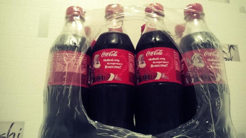Ящик кока-колы