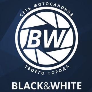 логотип салон фотографии блэк вайт