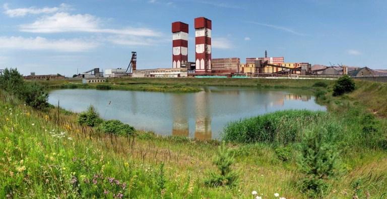 Беларуськалий, озеро завод