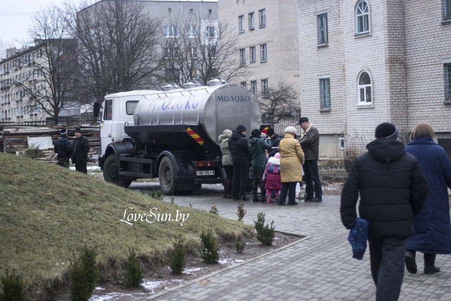 Крещенские морозы в Паричах 19.01.2015 12