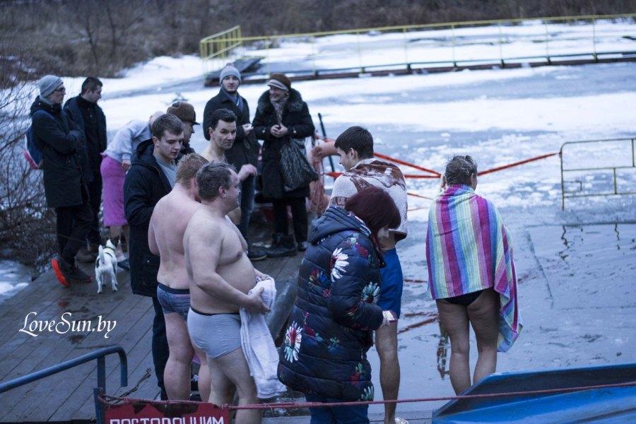 Крещенские морозы в Паричах 19.01.2015 15