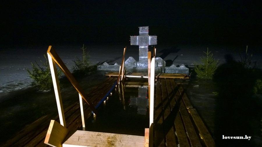 Крещенские морозы в Паричах 19.01.2015 19