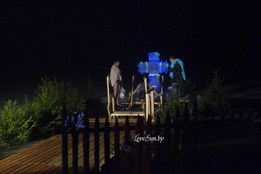 Крещенские морозы в Паричах 19.01.2015 2