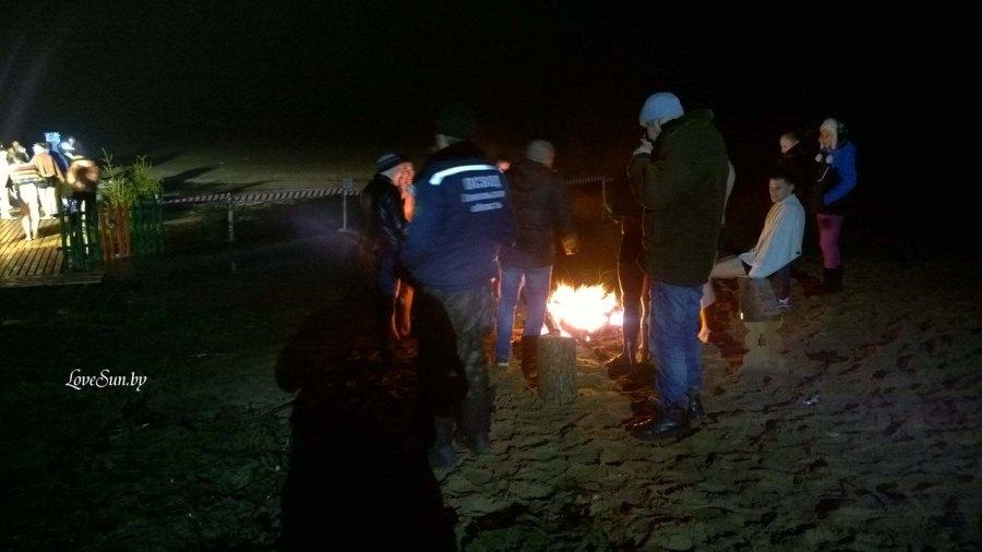 Крещенские морозы в Паричах 19.01.2015 8