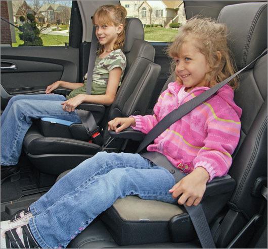 детский автомобильный бустер