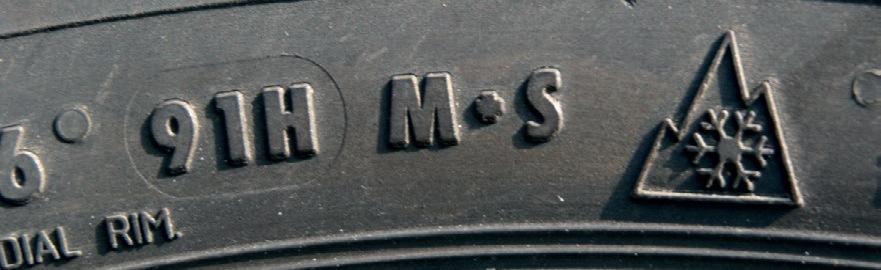 маркировка зимних автошин