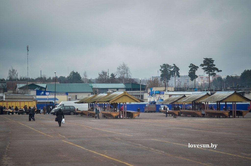Пустой центральный рынок  1 марта 2015 11