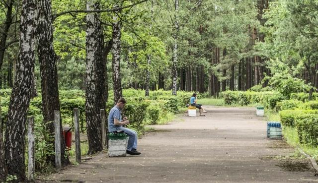 парк отдыха в Светлогорске