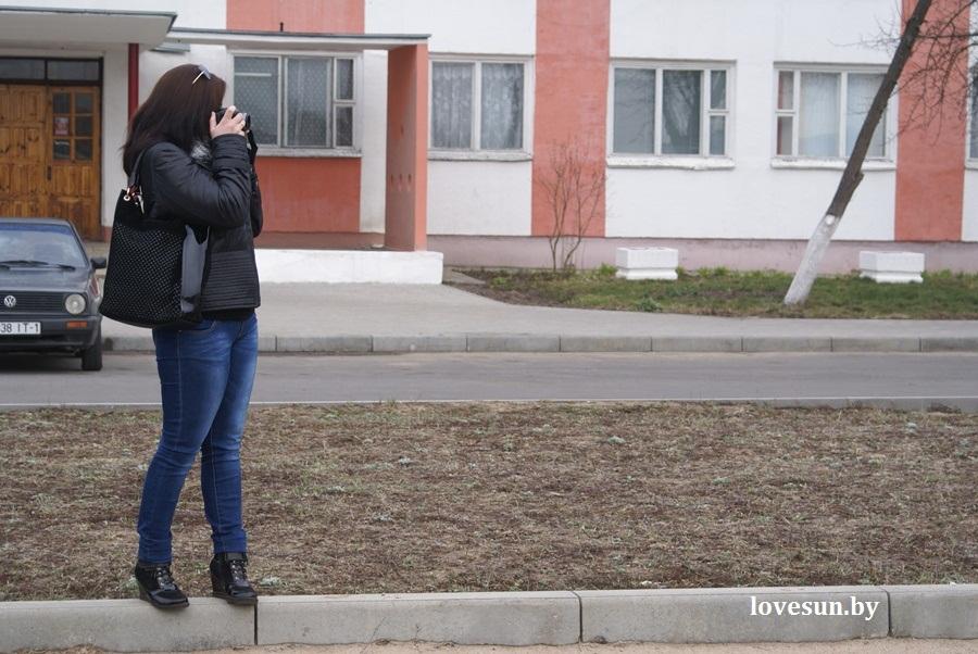 2014.04.04 благотворительная акция светлогорского автоканала , девушка фотограф