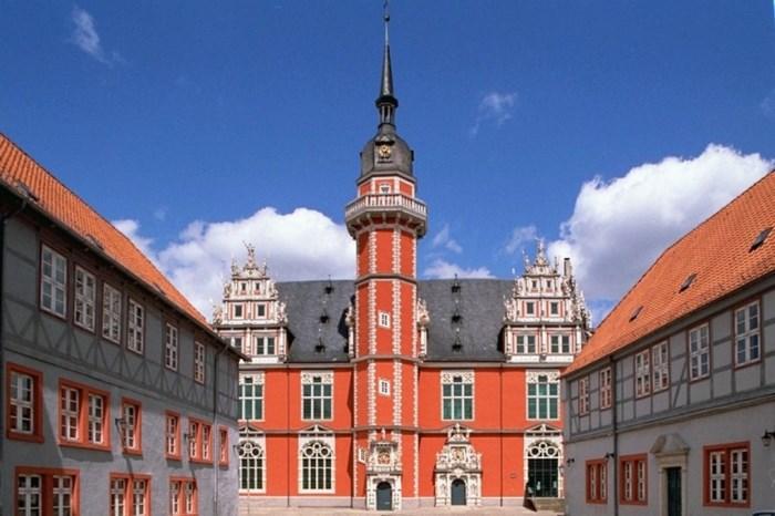Бывшее здание университета в Хельмштедте