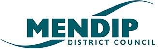 Логотип округа Мендип, Англия