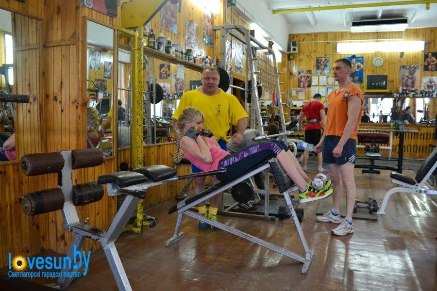 Тренажёрный зал мужской 06.04.2015, спорт Лукьянов