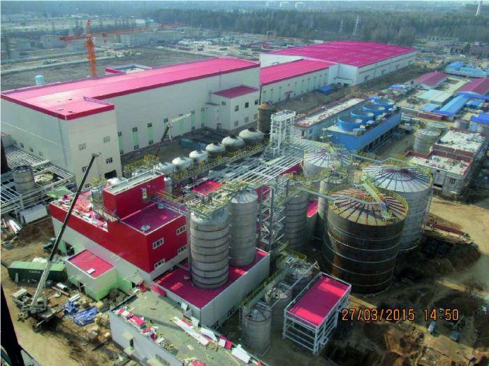 Завод белёной целлюлозы ЦКК