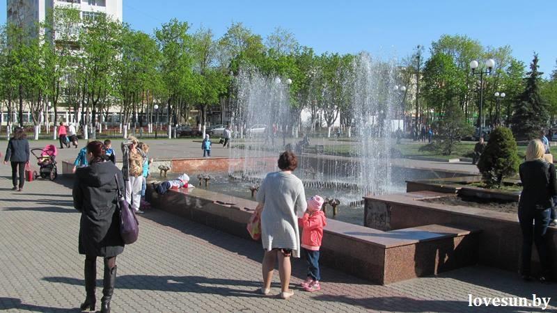 фонтан гцк