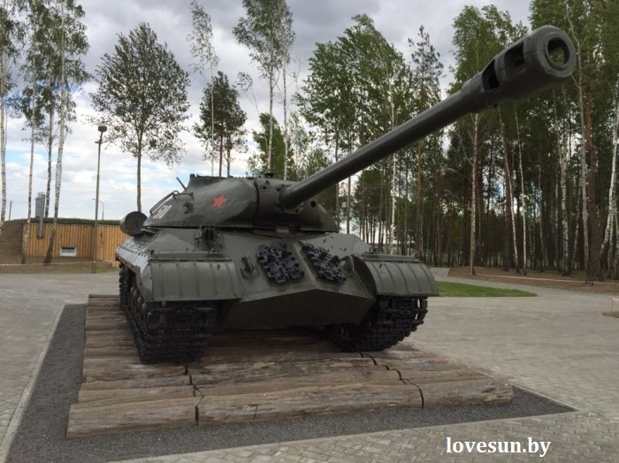 Багратион, танк ИС-3 2