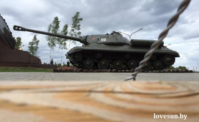 Багратион, танк ИС-3 3