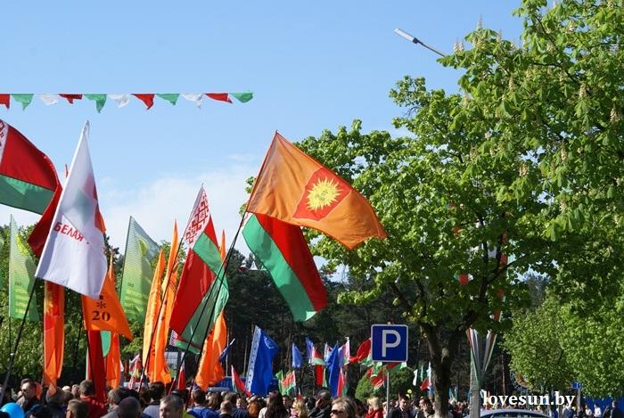 День победы 2015 перевернутый флаг