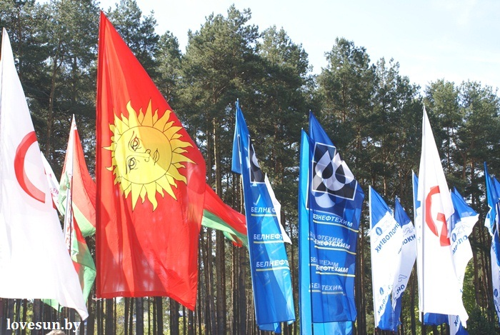 День победы 2015 флаг и герб Светлогорска
