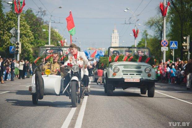 Гомельское шествие к 9 мая