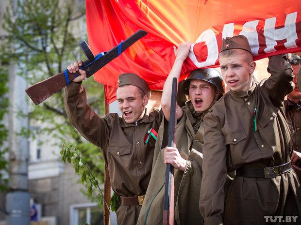 Могилёвское шествие к 9 мая