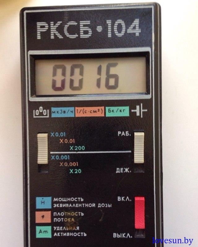 радиация в Светлогорске 2