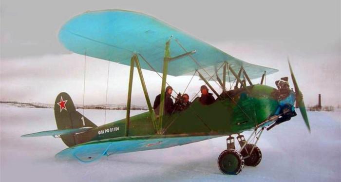 самолет У2, кукурузник