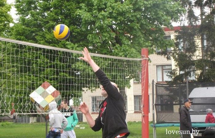 волейбол Осташковичская спартакиада