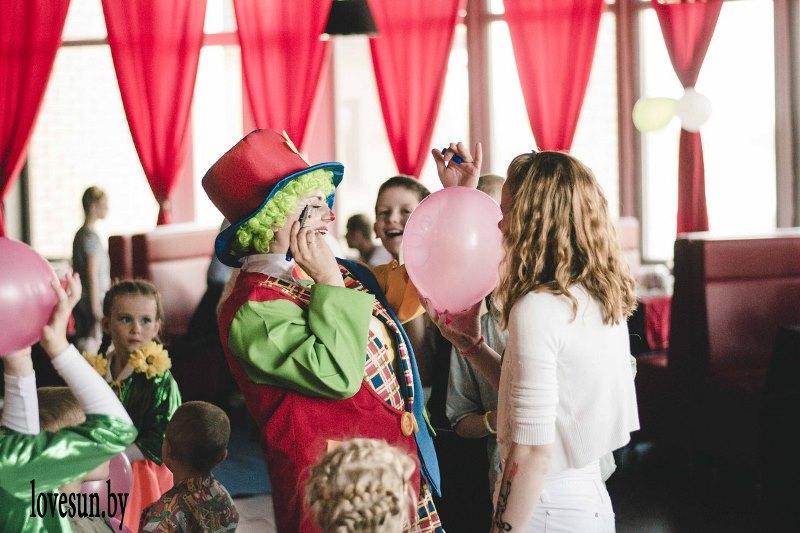 Детское мероприятие в Ксарте клоун Ириска