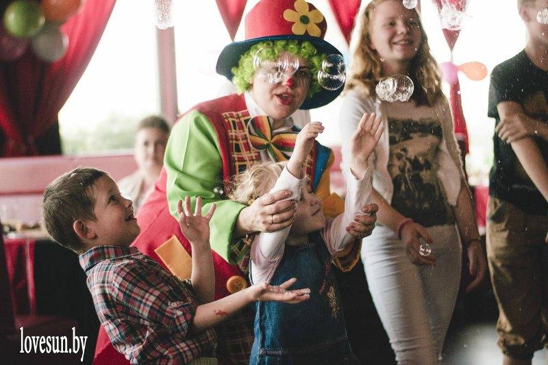 Детское мероприятие в Ксарте клоун ириска 4