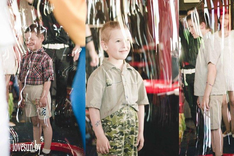 Детское мероприятие в Ксарте мыльный пузырь