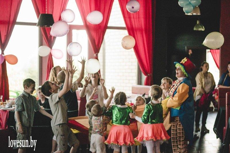 Детское мероприятие в Ксарте шарики
