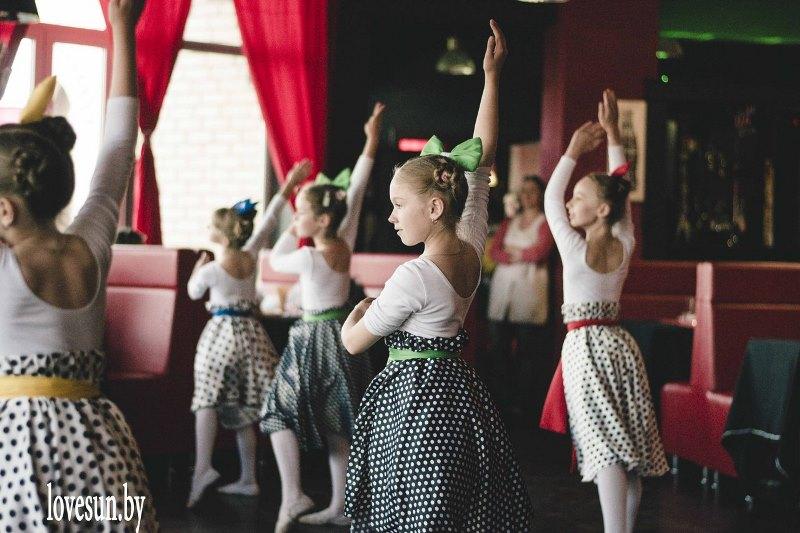 Детское мероприятие в Ксарте танцы