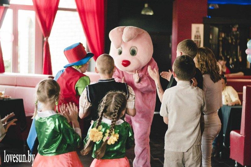 Детское мероприятие в Ксарте заяц