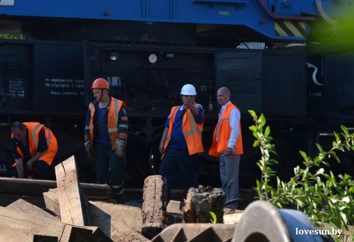 Восстановление железной дороги 8