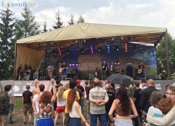 Наш Грюнвальд, Дудутки, 26.07.2015, сцена концерт
