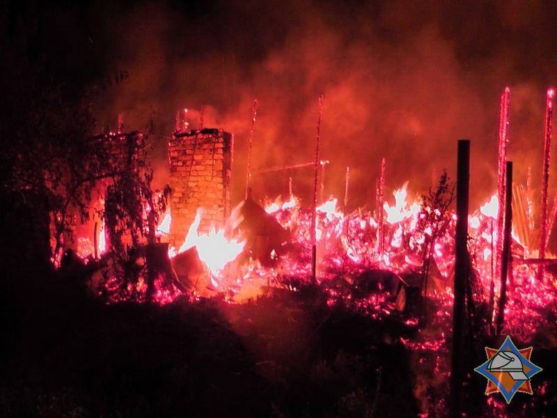 Пожар в сосновом бору 30.07.2015