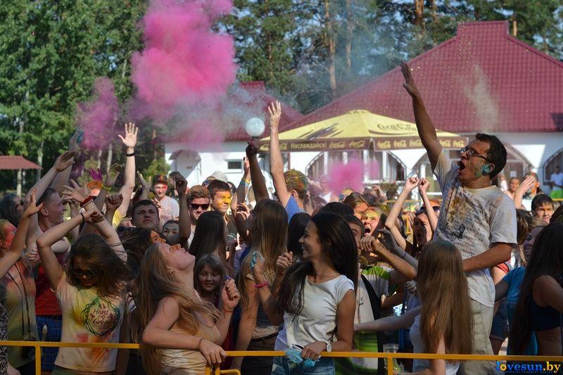 Фестиваль красок Холи 23.08.2015(2)
