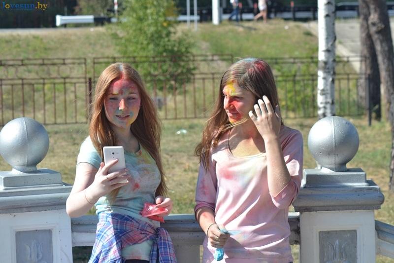 фестиваль красок Холи девушки DSC_0036